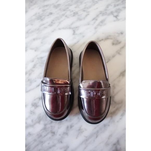Zara Shoes | Baby Tell Me A Story Metallic | Poshmark